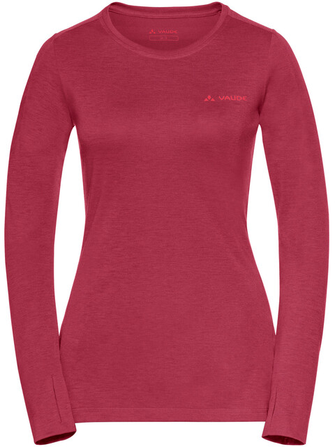 VAUDE Sveit LS Shirt Women red cluster